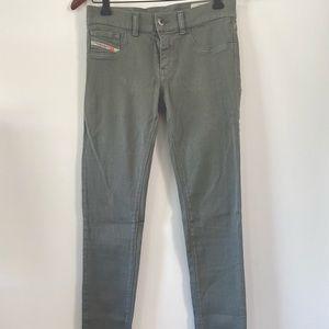 Diesel super slim low waist jeans - fit small